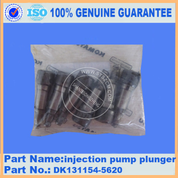 PC200-7 injection pump plunger DK131154-5620 for komatsu injection pump parts