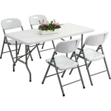 5FT Outdoor Rectangle Banquet Folding Table