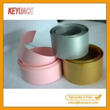 PVC Colorful Heat Shrink Tube For Battery