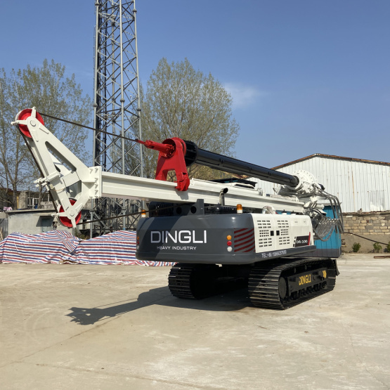 Dingli Sells Tracked Mining Rotary Drilling Rigs