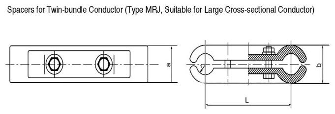 Spacer For Double Bus-bar Conductor 6