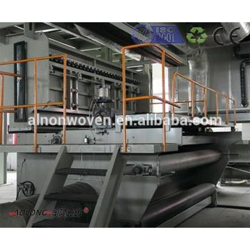 German Designed Non Woven Fabric Making Machine Made in China