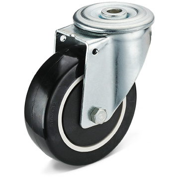 13 Series PU Bolt Hole Movable Caster Wheels