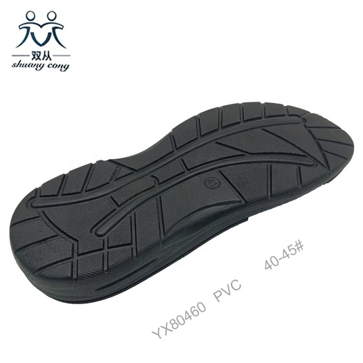 PVC Outsole Men Slipper Soles for Beach Sandals