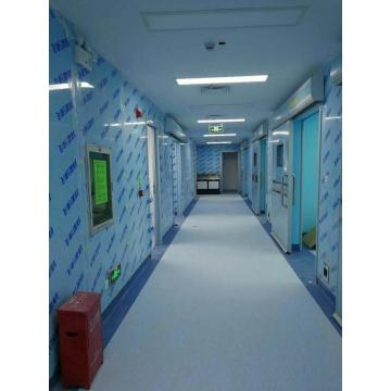 Grey violet fiber cement board for cleanroom wall