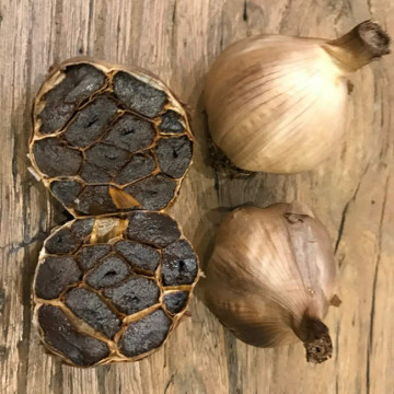 Multiple Clove Black Garlic For Sale