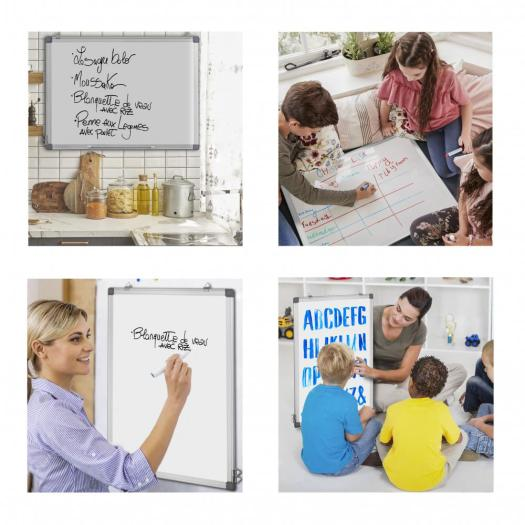 Wall Mounted Magnetic dry erase Whiteboard with marker