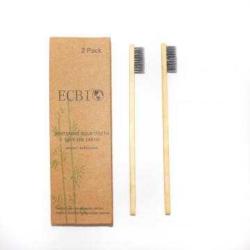 Family Pack Recycled Charcoal Bamboo Toothbrush