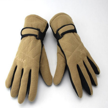 Wholesale cheap colorful fleece gloves