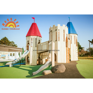 Outdoor Playground Castle Towers For Kids