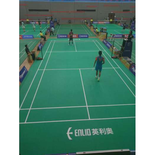 Enlio Badminton Court PVC Sports Flooring Mats