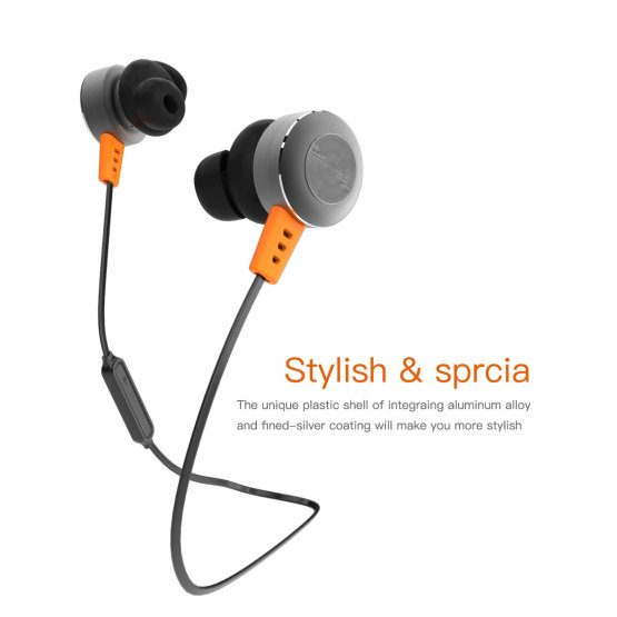Wireless Sport Stereo in-Ear Noise Cancelling