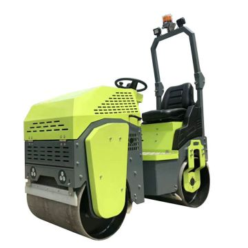 High compaction efficiency ride -on road roller 1ton