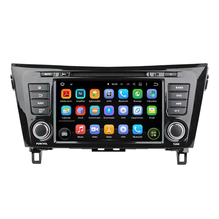 car dvd gps for NISSAN QashQai 2014 4
