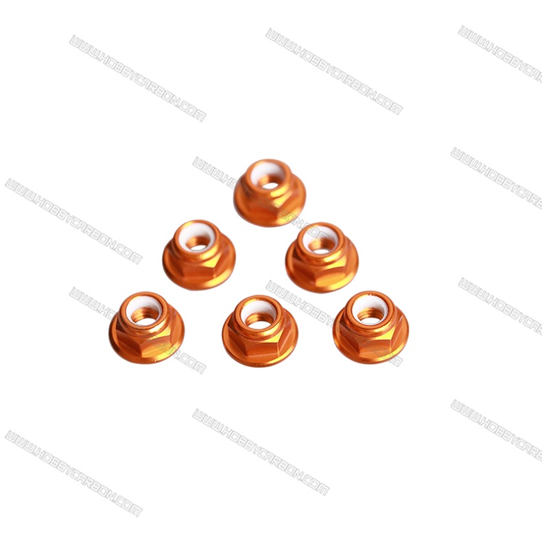 custom nylon aluminum nut