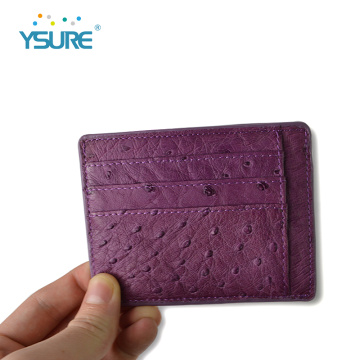 Custom Color Real Leather Id Card Holder