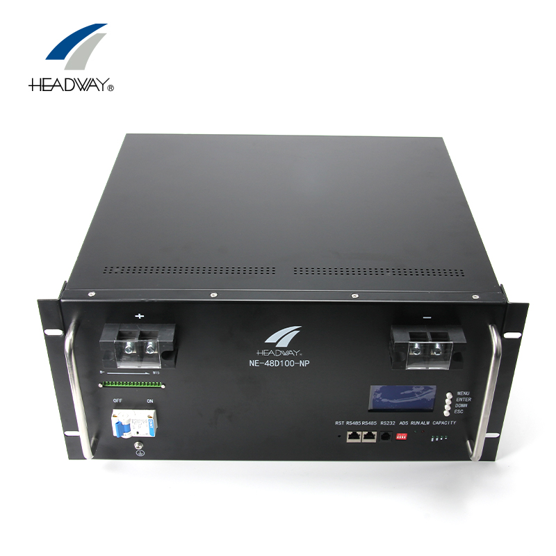 Headway 48V 100Ah Lithium ion lifepo4 battery Pack