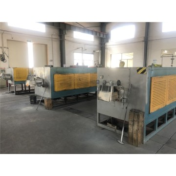 High sealing push-rod type tempering furnace
