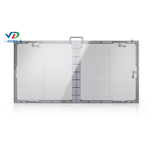 PH5.2-10.4 Transparent LED Display with 1000x500mm cabinet