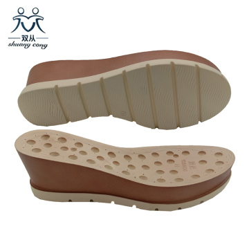 PVC PU Wedge Sandal Outsole