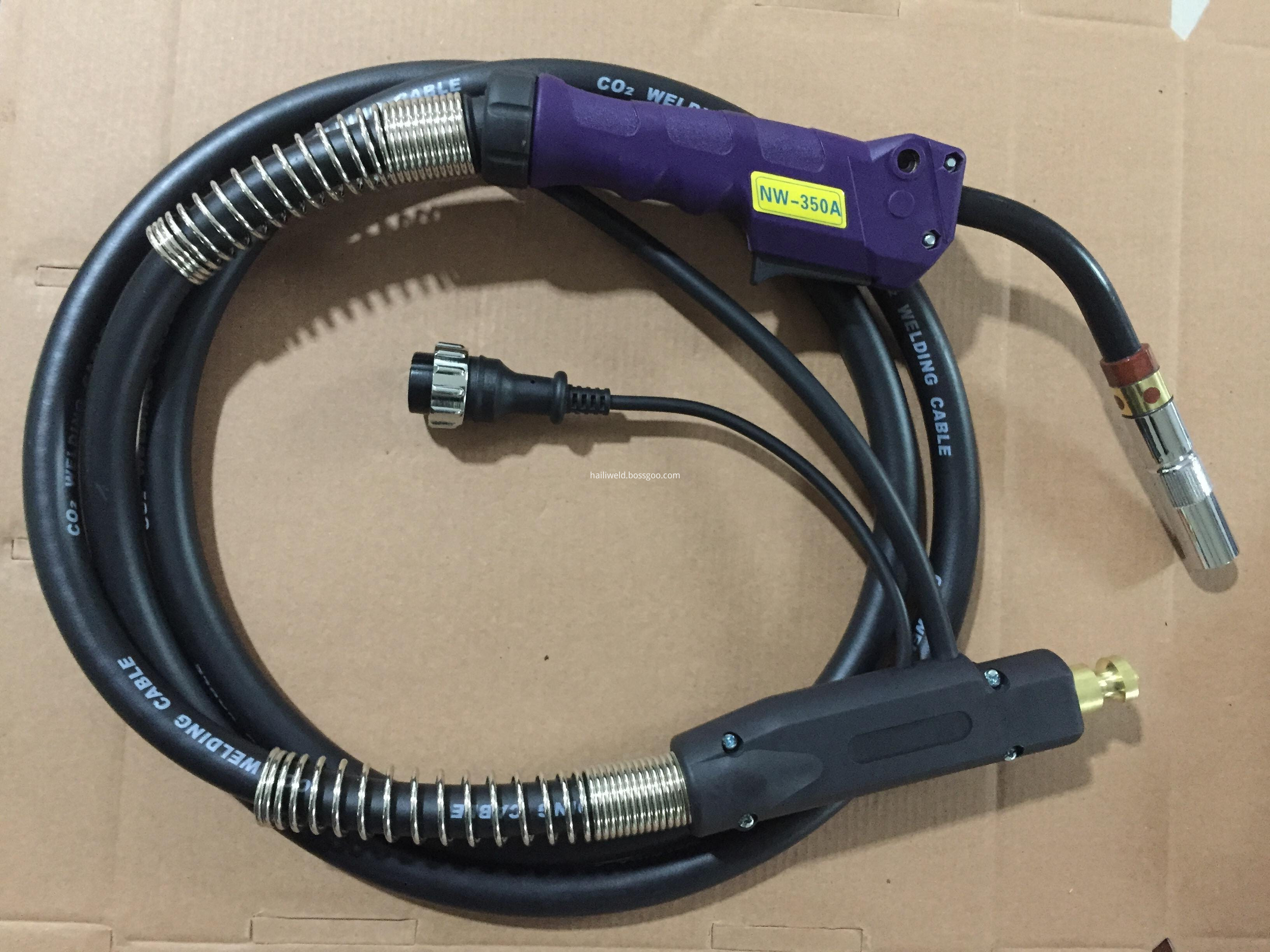 P350A Mig Mag Welding Torch