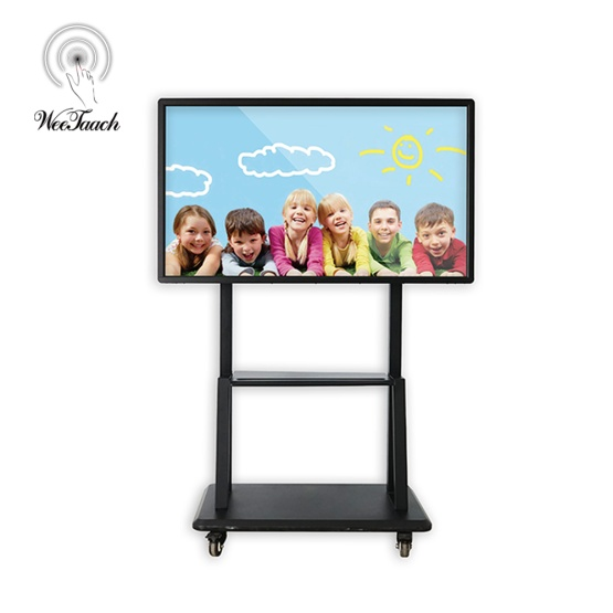 55 inches interactive panel with mobile stand