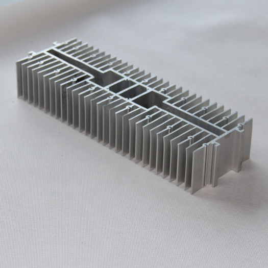 Aluminum Extrusion Heat Sink with CNC Machining