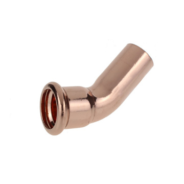 Copper 45 elbow F-M