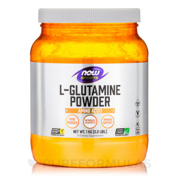 aor l-glutamine powder 454g