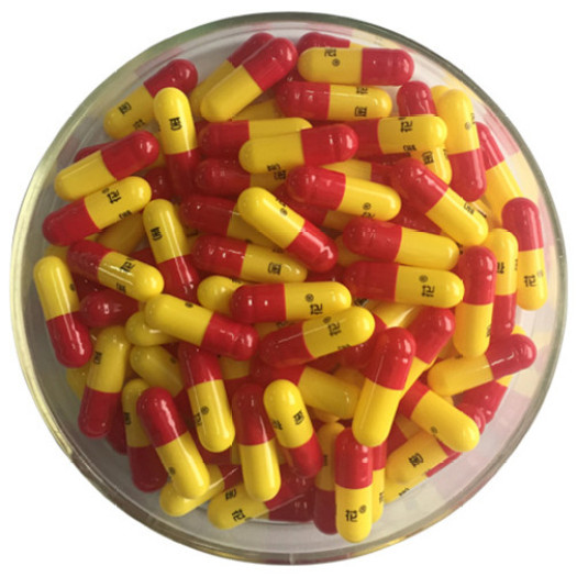 High Quality Customized Empty Gelatin Printed Capsules