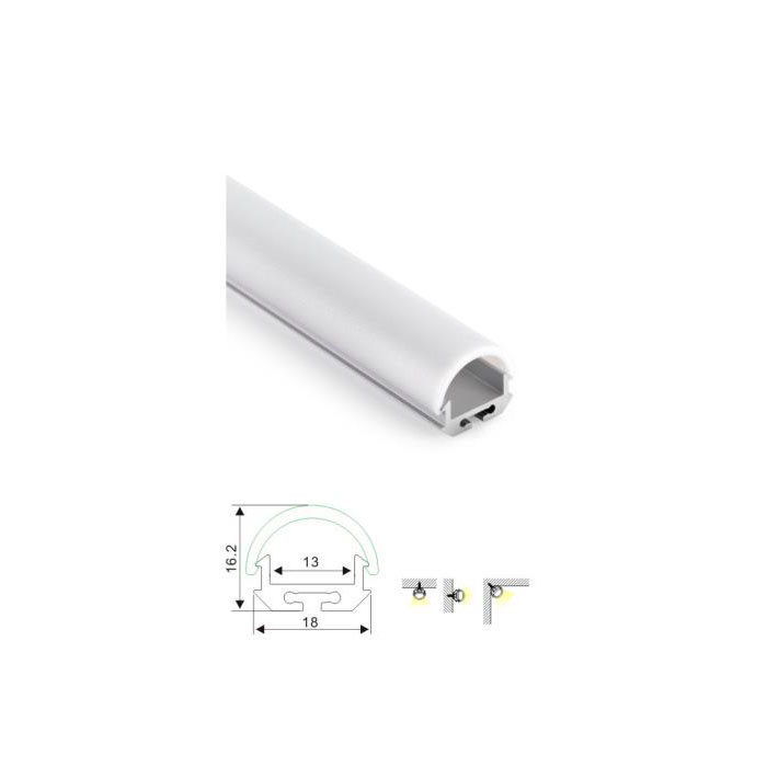 White Bright Modern Linear Light