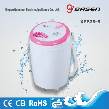 Pink Cover 3.5KG Mini Single Tub Washing Machine