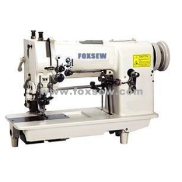 Hemstitch Picoting Sewing Machine with Puller and Cutter