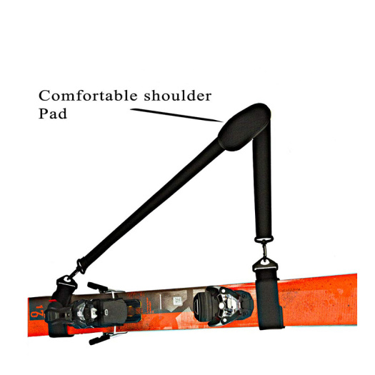 Adjustable Flexible Shoulder Ski Lift Carrier Strap