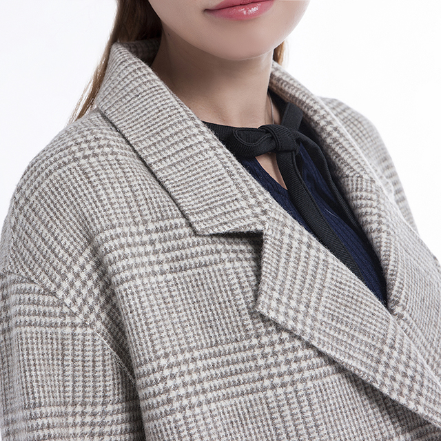 Girl cashmere coat