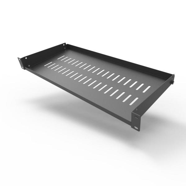 Vented Cantilever 1U Universal Rack Shelf 6 Deep
