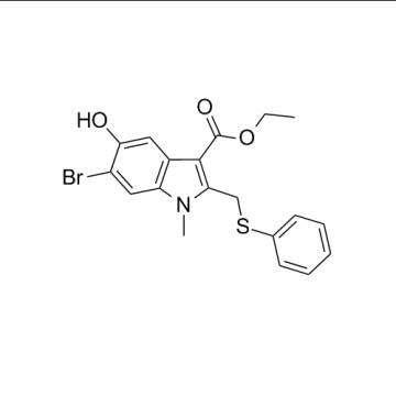 CAS 131707-24-9,Arbidol Intermediate, Ethyl 6-bromo-5-hydroxy-1-methyl-2-(phenylsulfanylmethyl)indole-3-carboxylate