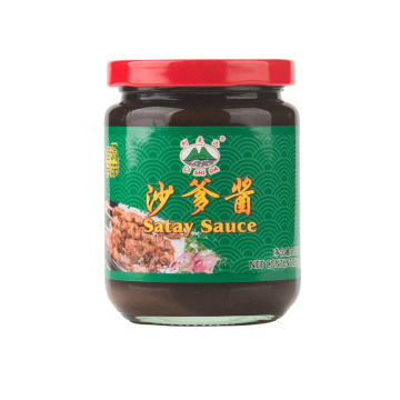 230g Glass Jar Satay Sauce