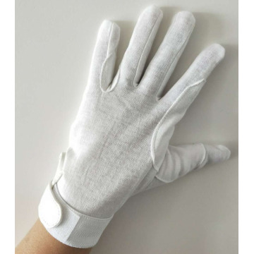 Waiter Band Cotton Parade Hand Gloves