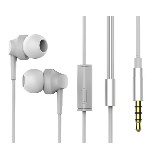 3.5mm Earphone Wired Headphones Earbud with Microphone