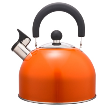3.0L Stainless Steel color painting Teakettle orange color