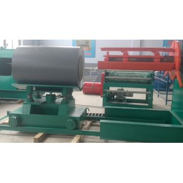 Simple 10 ton hydraulic metal steel coil decoiler for sale