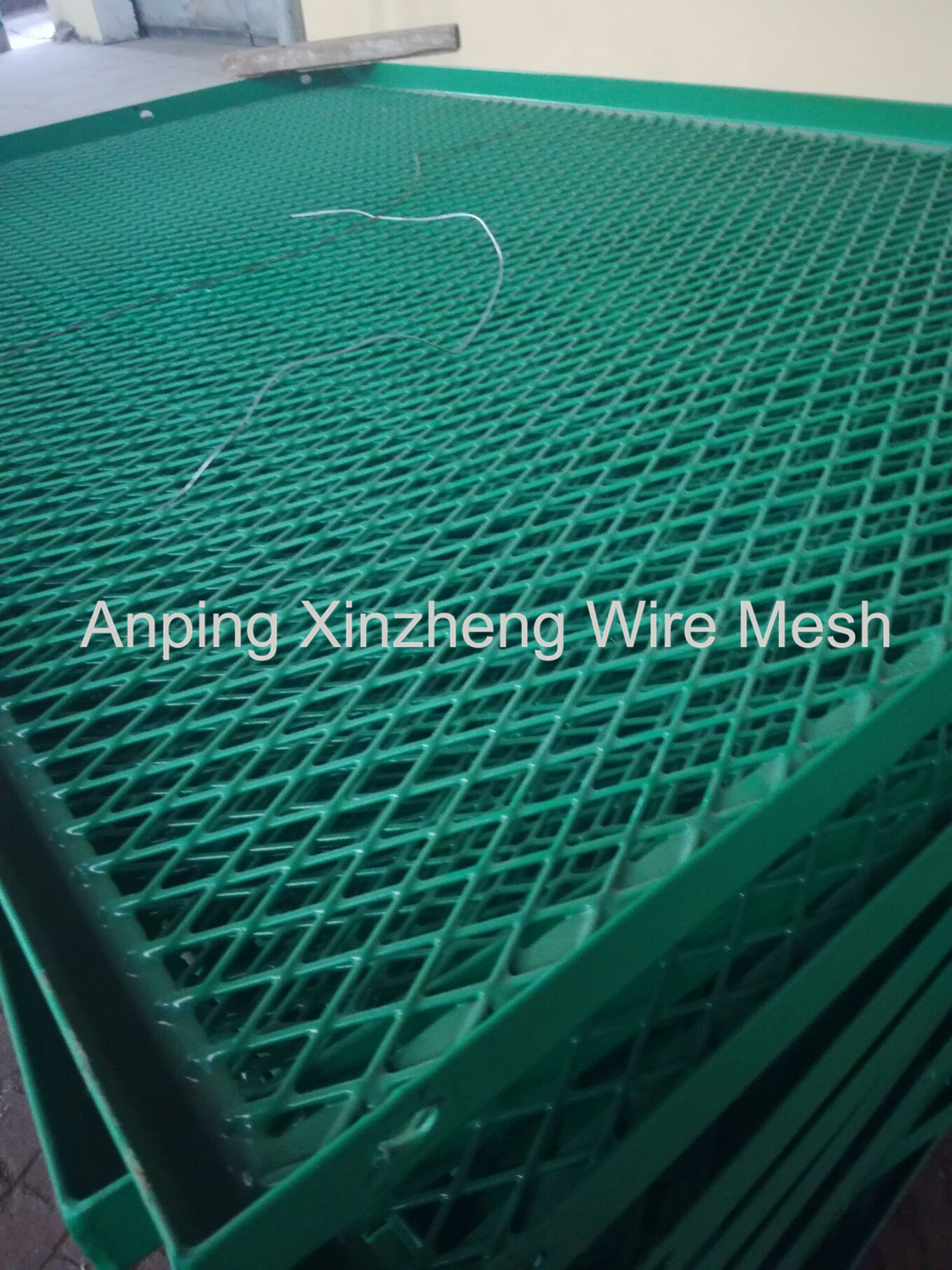 Expanded Metal Mesh Pvc Coated