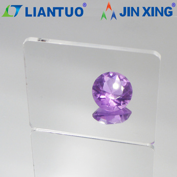 transparent blue acrylic sheet