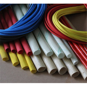 Fiberglass Coated Silicone Rubber Sleeving