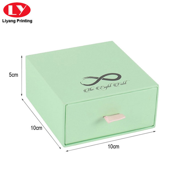 Luxury Bracelet Packaging Custom Drawer Gift Box