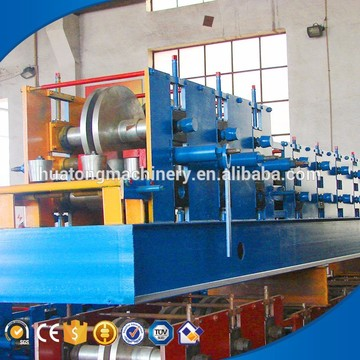 C roof channel aluminum molding machine