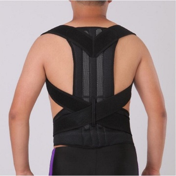Shoulder back support posture corrective brace belt