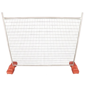 Pvc coated outdoor fence portable Canada temporary fencing for sale