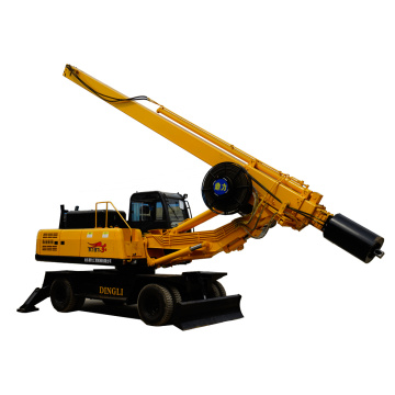 20m wheeled core drilling rig